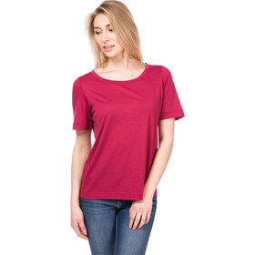 super.natural Essential Scoop Tee Women, h10 anemone